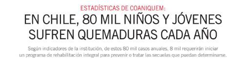 Edición especial Coaniquem – 40 años ( El Mercurio )
